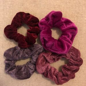 80s style scrunchies